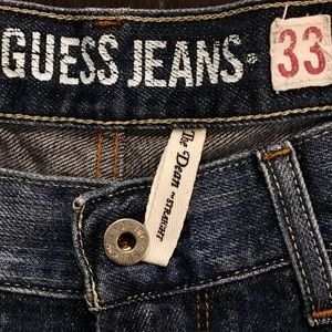Mens Guess Jeans - The Dean Straight Leg